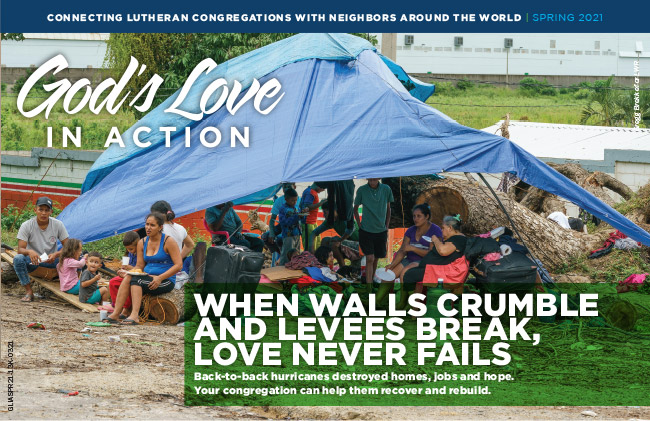 God's Love in Action - When walls crumble and levees break, love never fails