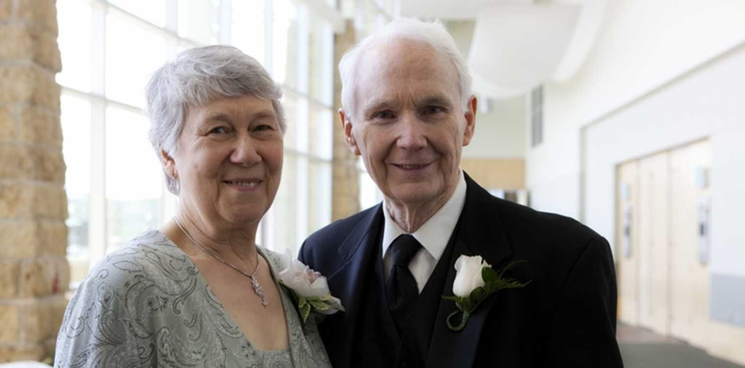 James Aydelotte and his late wife, Margaret, who have chosen to leave a gift to neighbors in need in their will.