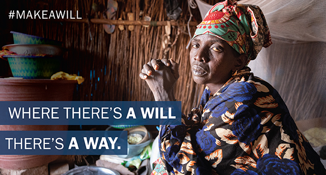 Where there's a will there's a way. #MakeAWill