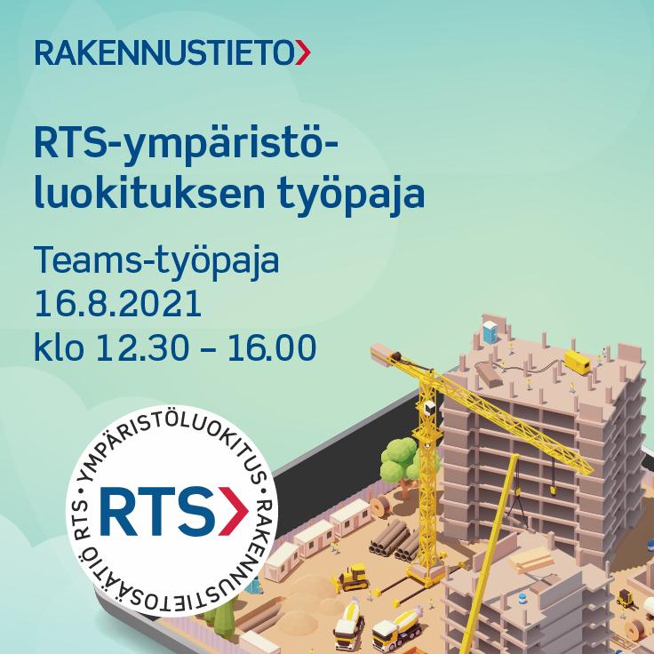 RTS-ympäristöluokituksen työpaja