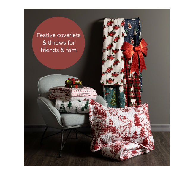 Coverlets and Throws