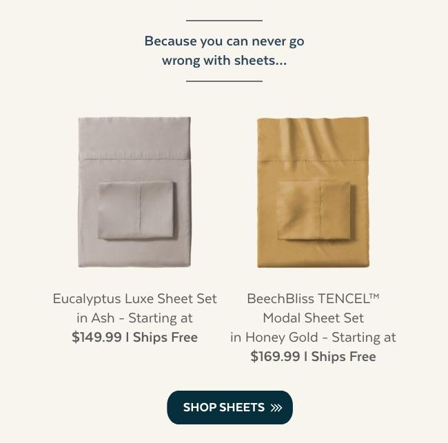 Shop Sheets